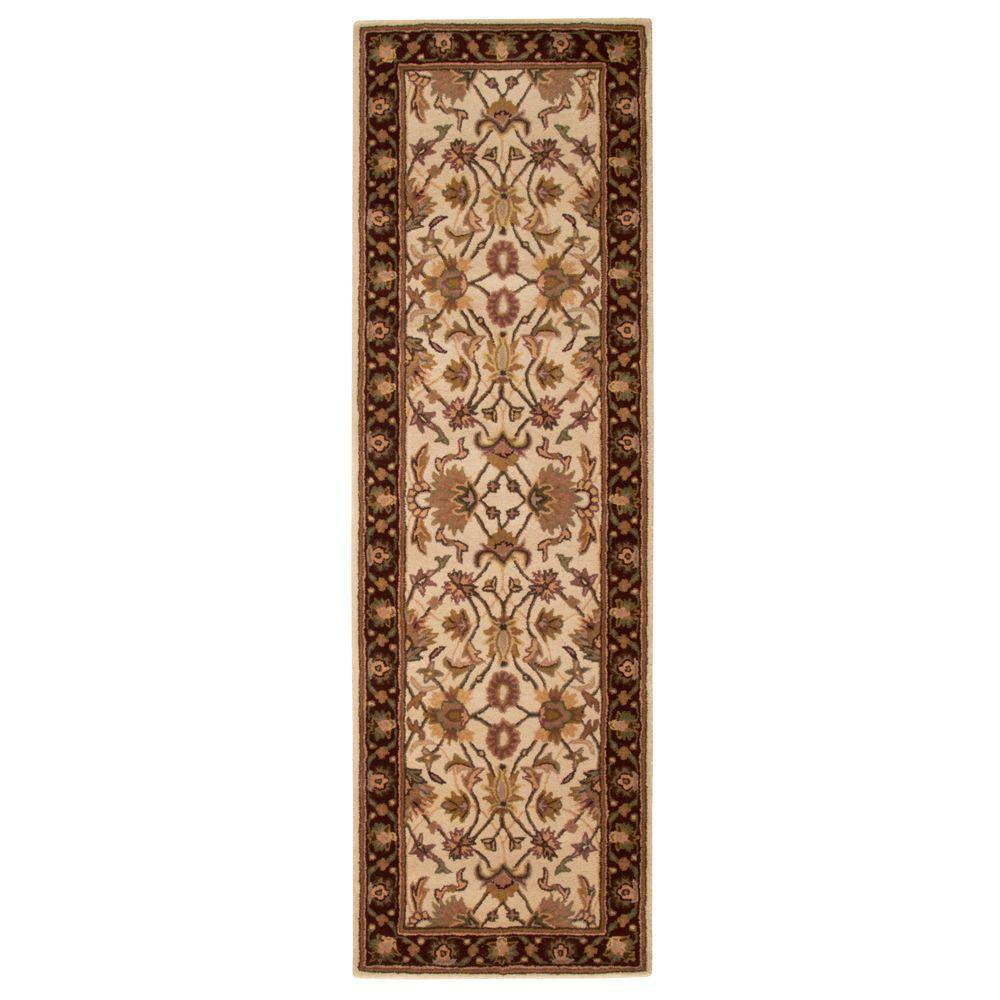 Home decorators collection constantine ivory 2 ft 3 in x for Home decorators rug runners