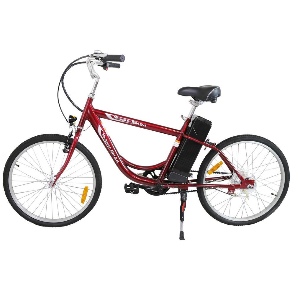 Urban Street Electric 24 in. Age 16 Unisex Bike