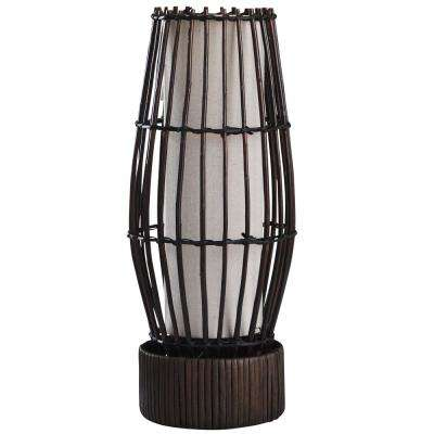 Eastwood 18 in. Dark Brown Floor Lamp