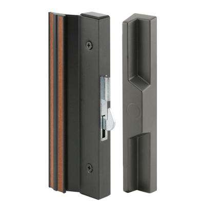 Extruded Aluminum, Black, Surface Mount Handles with Anti-Lift Hook Latch