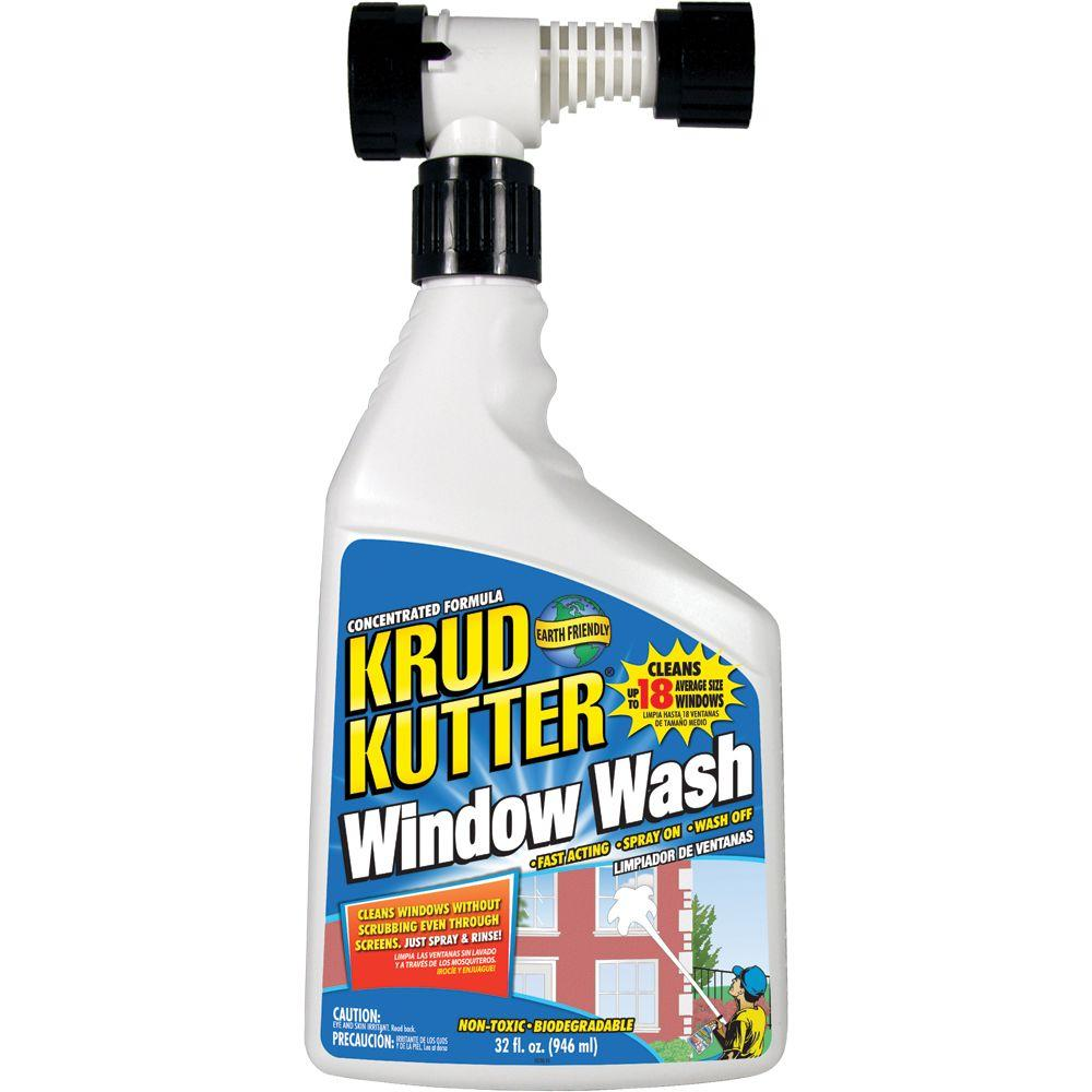Krud Kutter 32 Oz Window Wash And Outdoor Cleaner Ww32h4 The Home Depot
