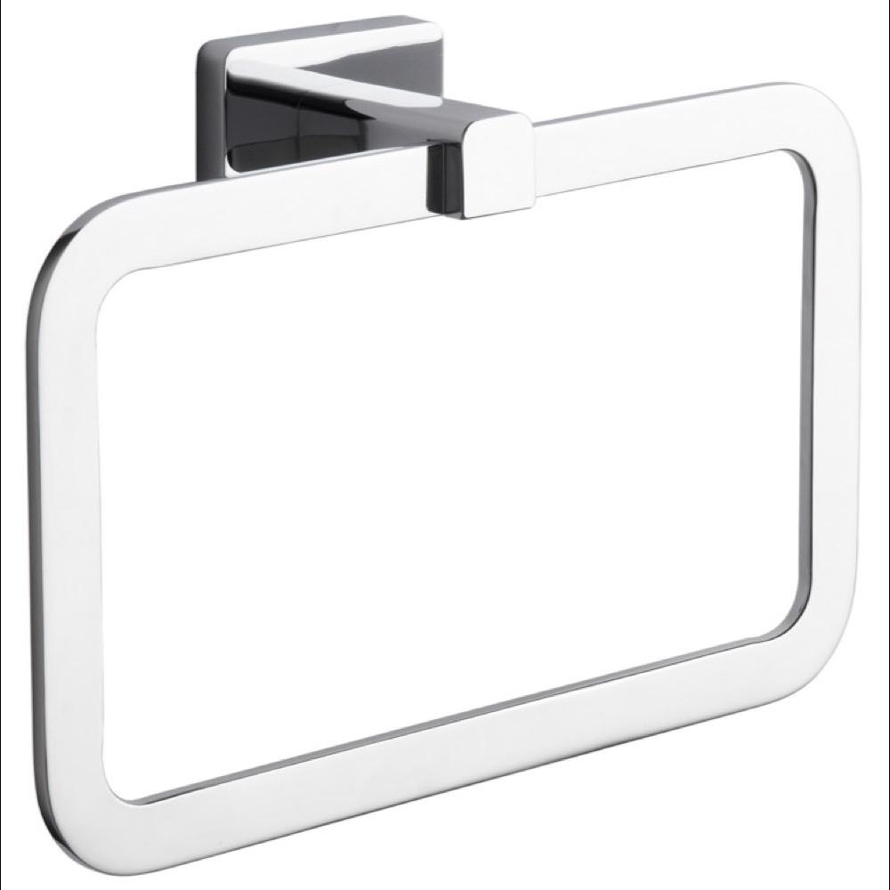 Nameeks General Hotel Wall Mounted Towel Ring in Chrome