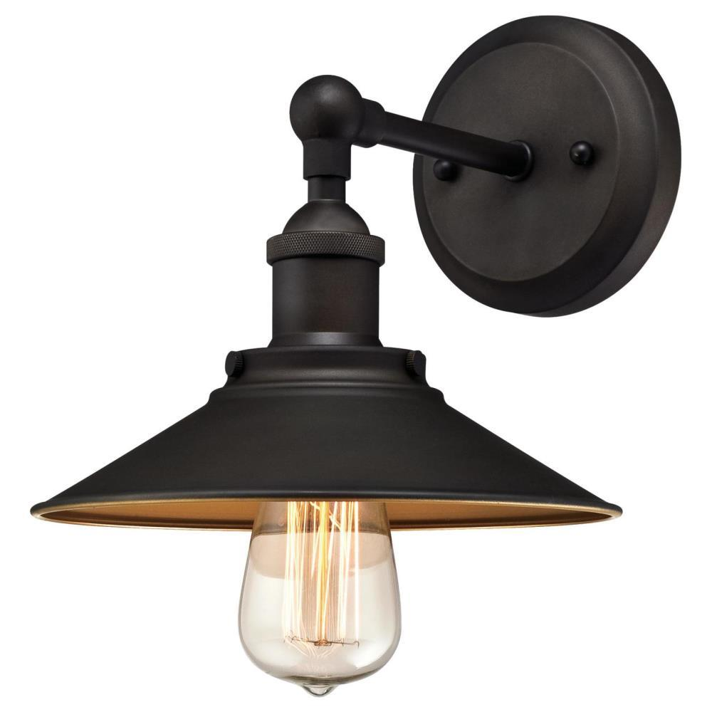 Westinghouse Louis 1 Light Oil Rubbed Bronze Wall Mount Sconce