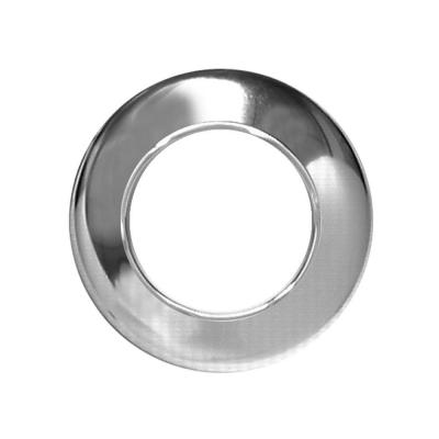 1-1/2 in. Low-Pattern Flange Escutcheon Plate in Chrome-Plated Steel