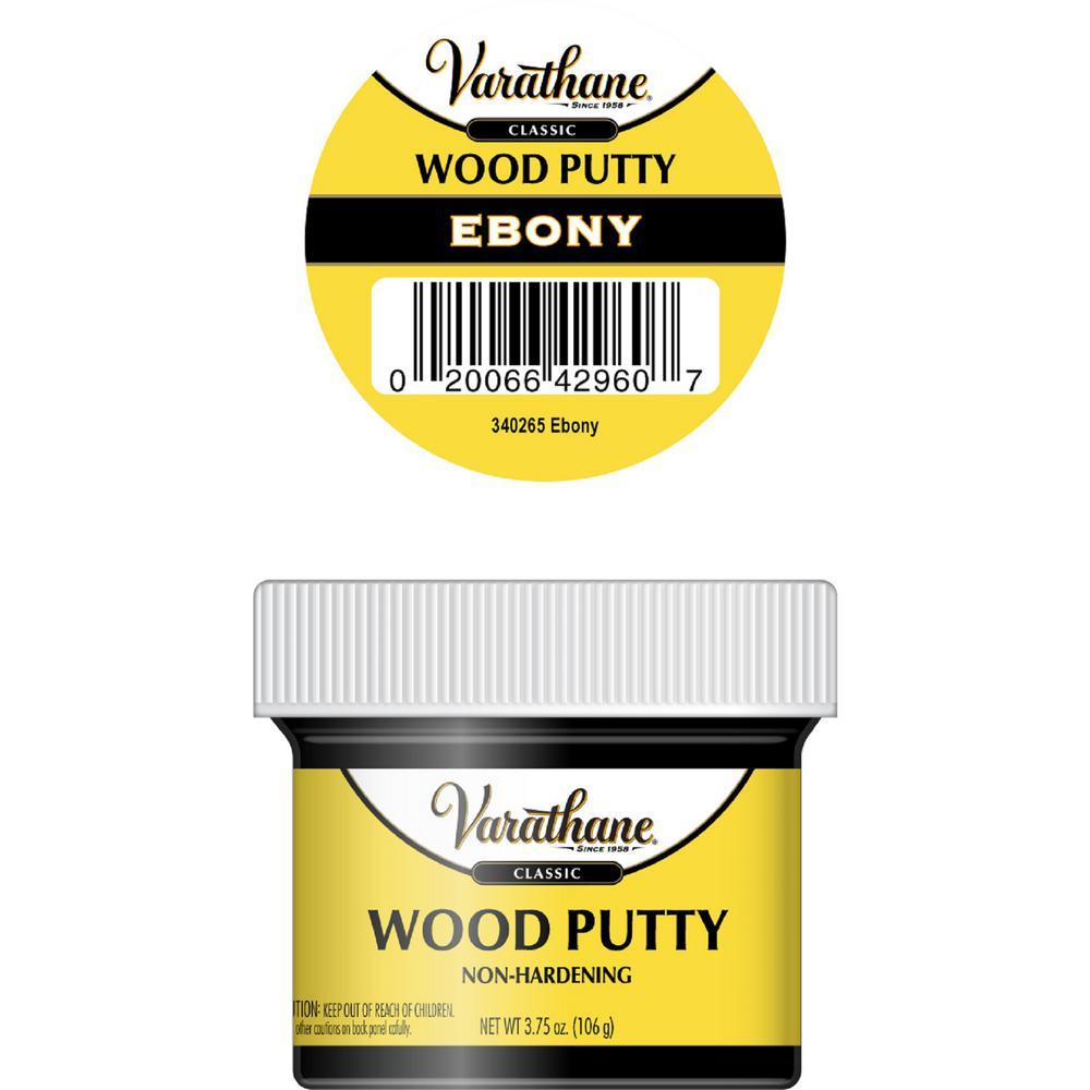 3.75 oz. Ebony Wood Putty (6-Pack)
