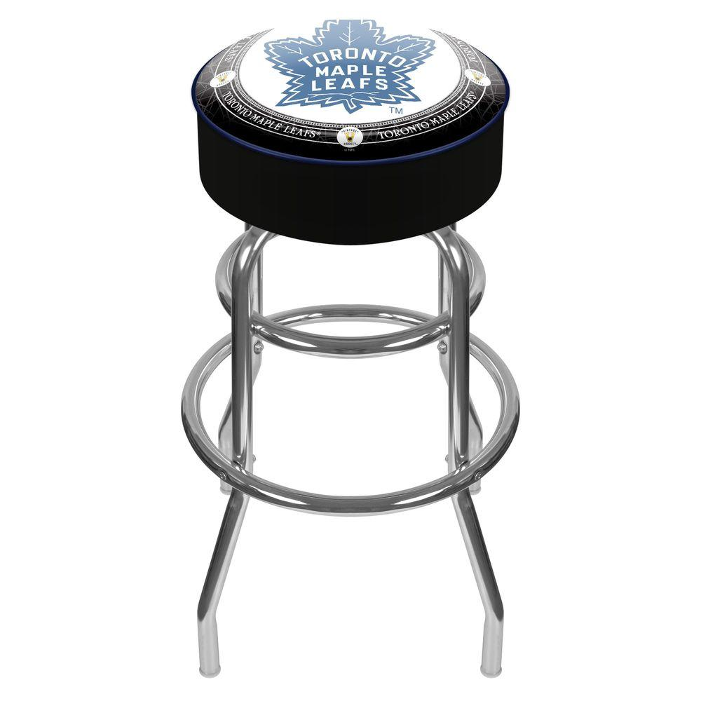 Trademark NHL Throwback Toronto Maple Leafs 31 in. Chrome Padded Swivel Bar Stool  sc 1 st  The Home Depot & Trademark NHL Throwback Toronto Maple Leafs 31 in. Chrome Padded ... islam-shia.org