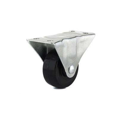 2-1/2 in. General Rubber Duty Rigid Caster