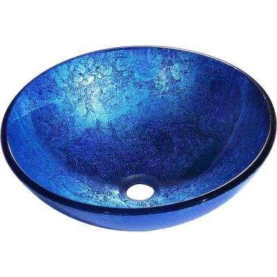 Divant Vessel Sink in Royal Blue