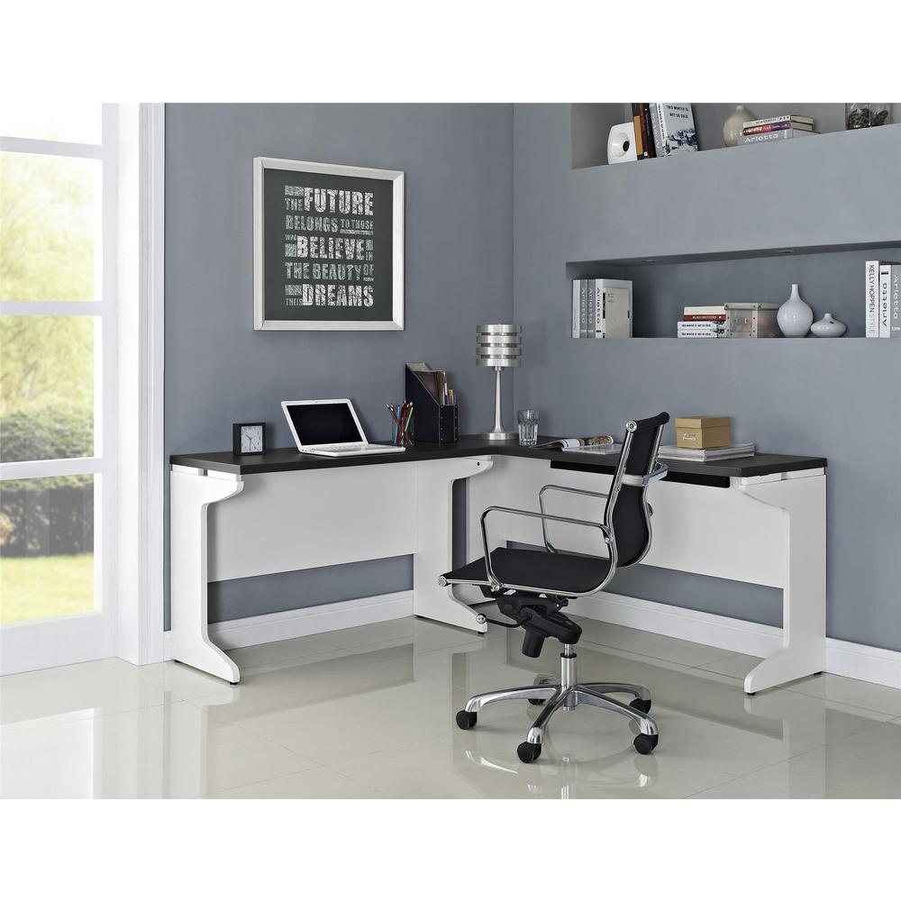 Altra Furniture Pursuit White Desk by Altra Furniture