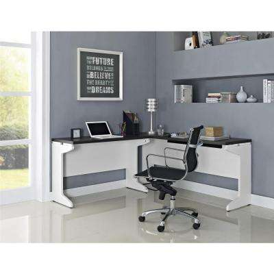 Pursuit White Desk
