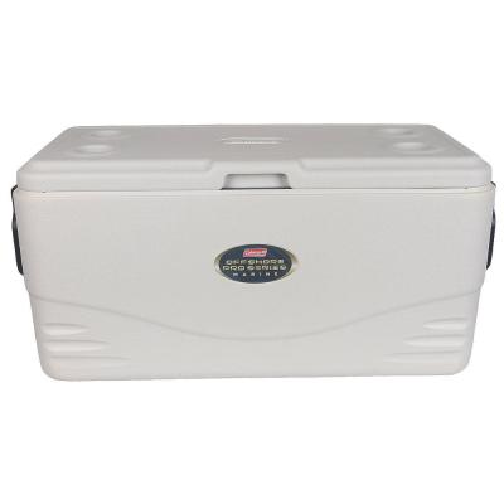 Coleman 3000002237 200-Quart Offshore Pro Series Marine Cooler White