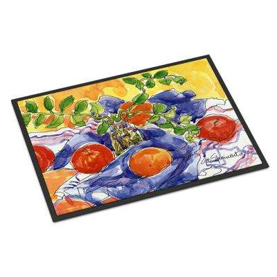 18 in. x 27 in. Indoor/Outdoor Apples Door Mat