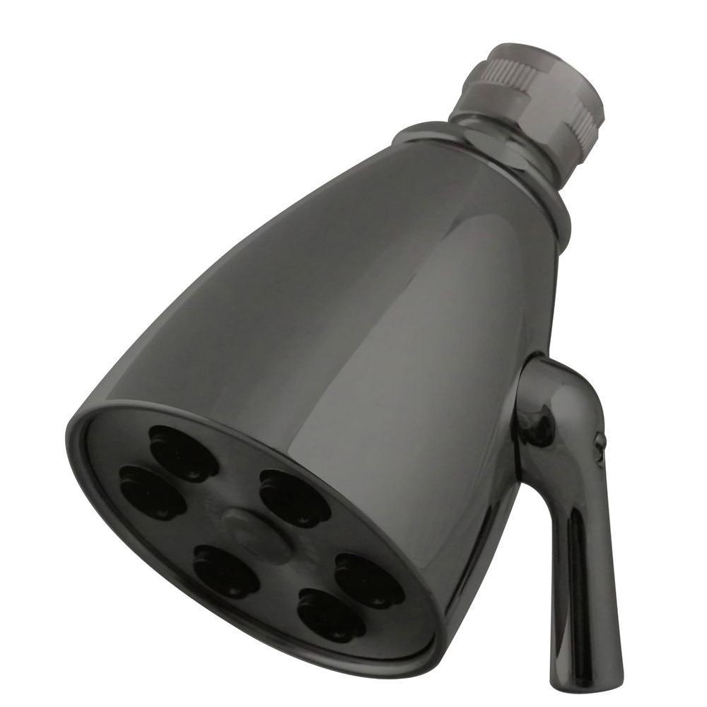 Westbrass 6-Spray 2-1/4 in. Adjustable Showerhead in Bronze