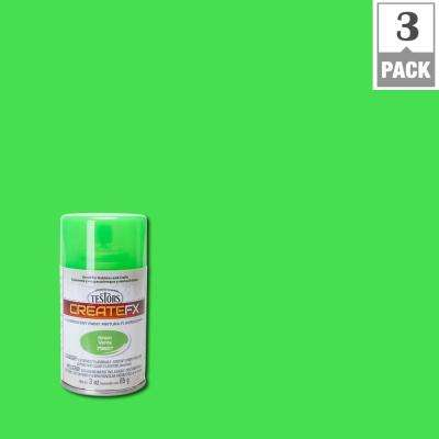 3 oz. Fluorescent Green Spray Paint (3-Pack)