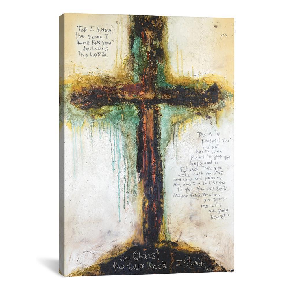 Jeremiah 29:11-13 by Michel Keck Wall Art