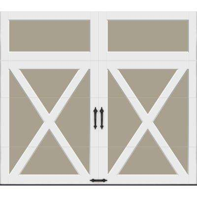 Coachman Collection Intellicore Insulated Crossbuck Solid Garage Door