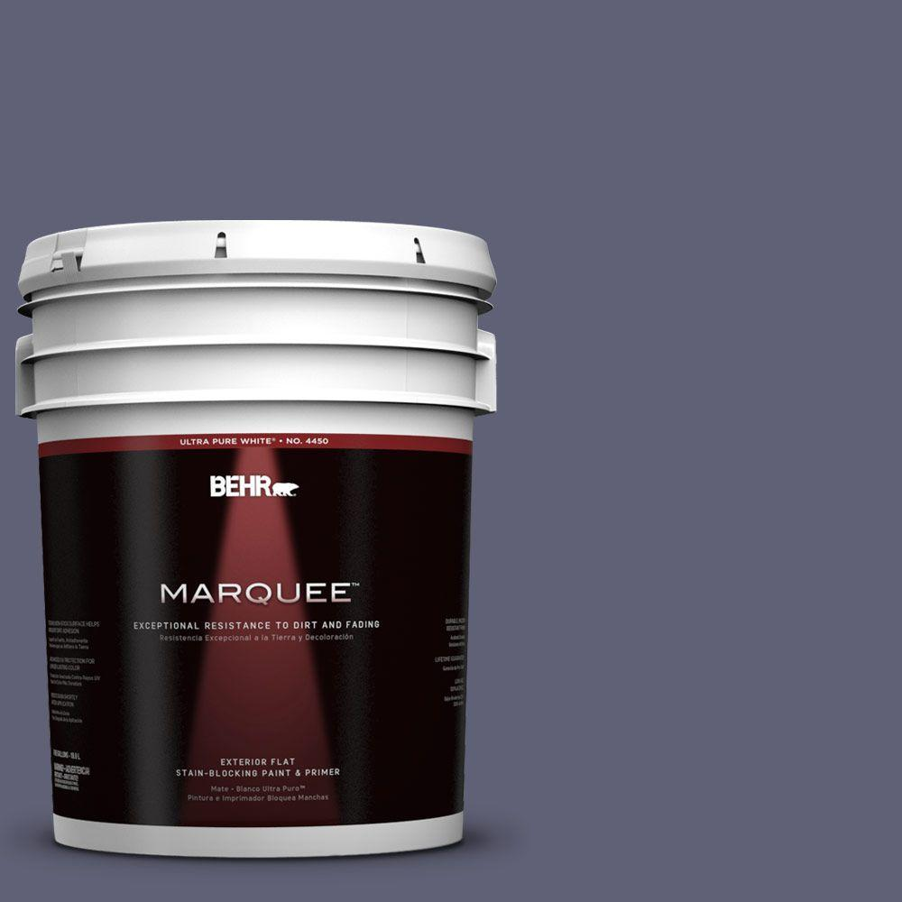 BEHR MARQUEE 5-gal. #620F-6 Purple Orchid Flat Exterior Paint