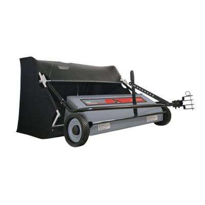 Professional Grade 46 in. 24 cu. ft. Lawn Sweeper