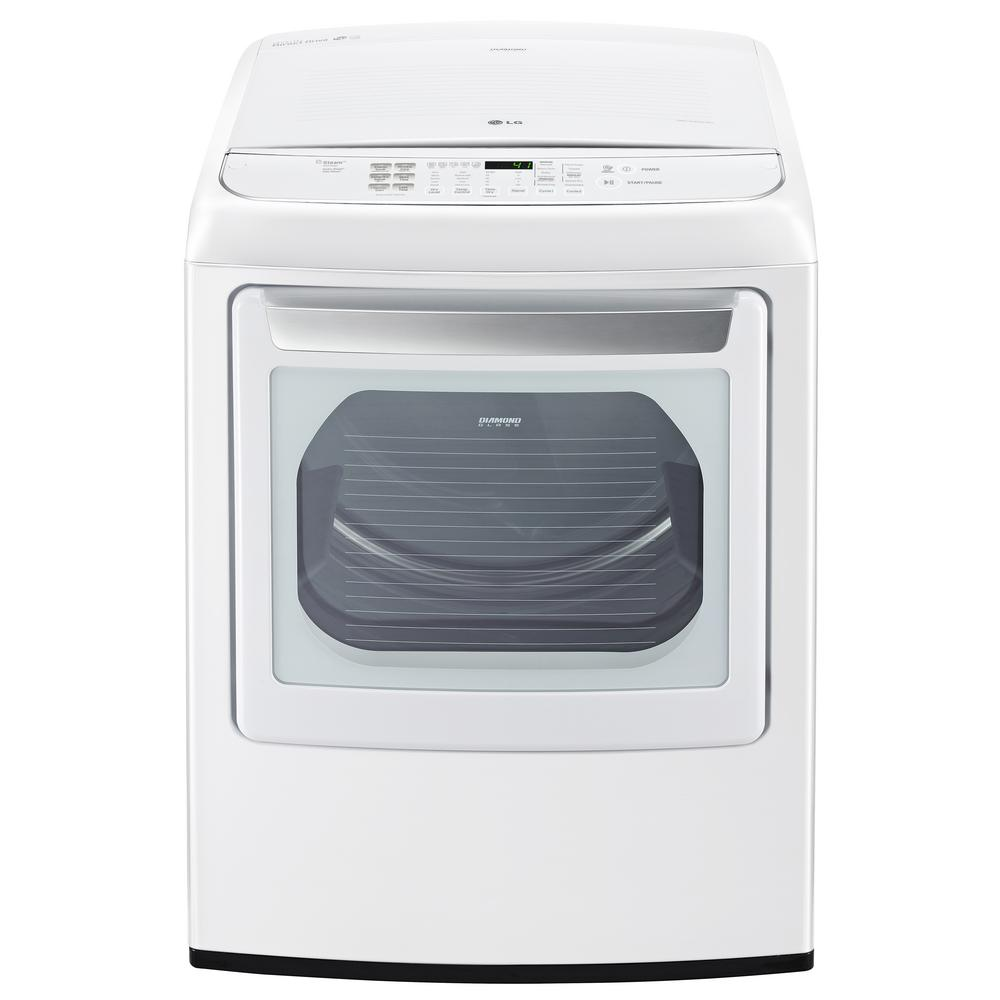 7.3 cu. ft. Smart Electric Dryer with Steam and Wi-Fi Enabled
