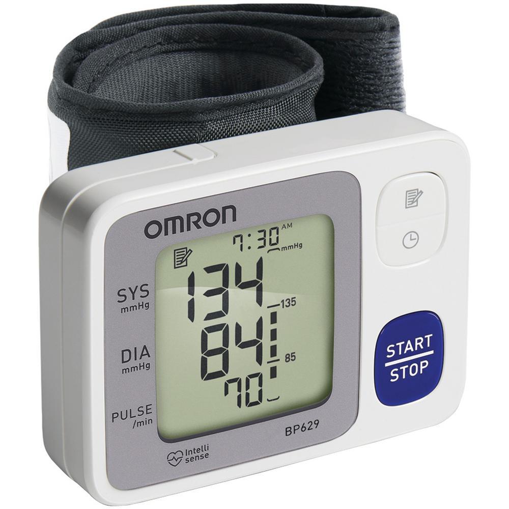 Omron 3 Series Wrist Blood Pressure Monitor Bp629n The