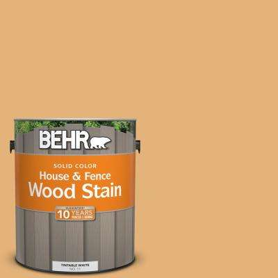 1 gal. #300D-4 High Plateau Solid Color House and Fence Exterior Wood Stain