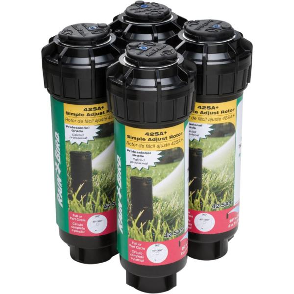Rotor Sprinkler Heads (4-Pack)