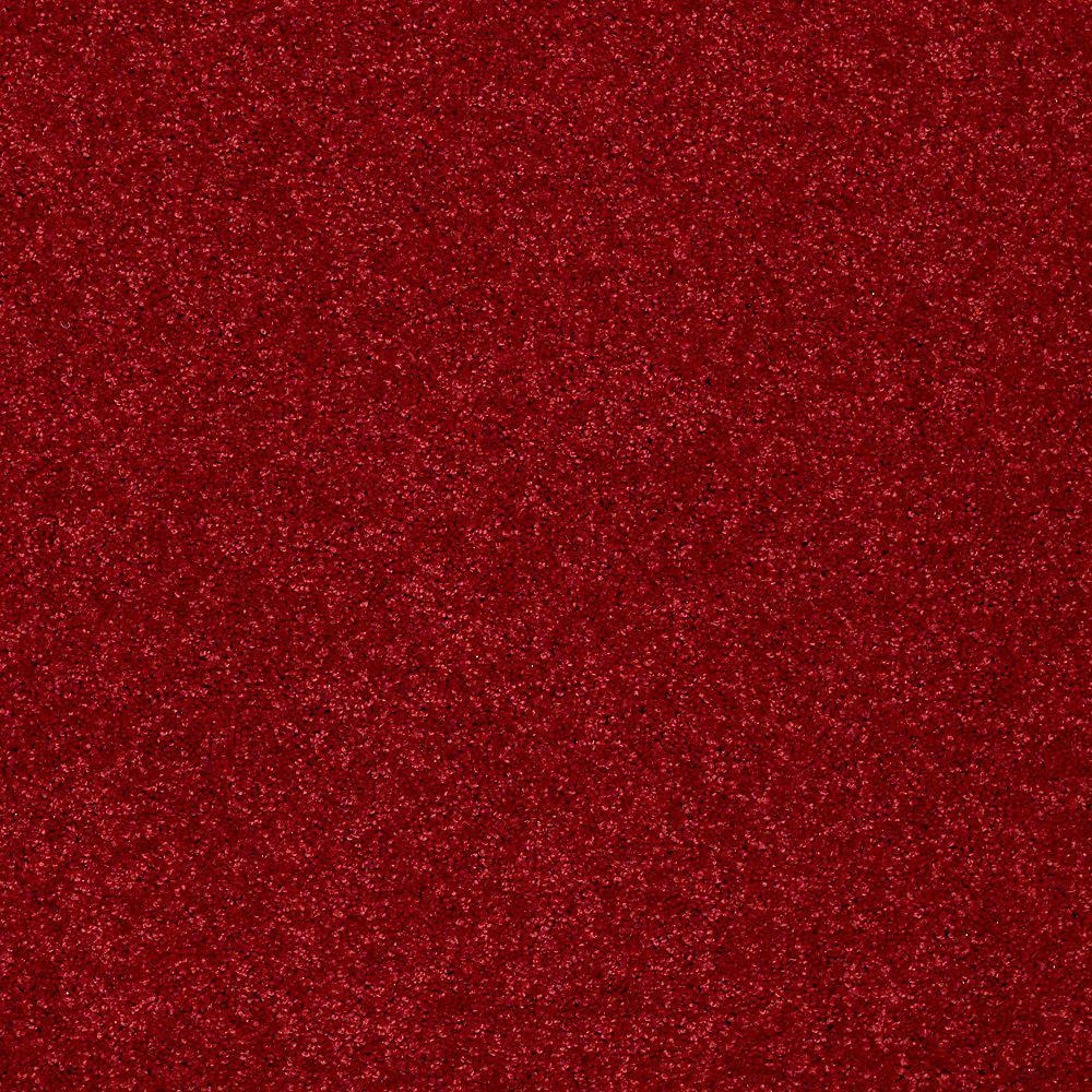 Platinum Plus Joyful Whimsey Color Red Rover Texture 12 ft Carpet