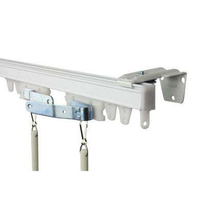 144 in. Commercial Wall/Ceiling Track Kit