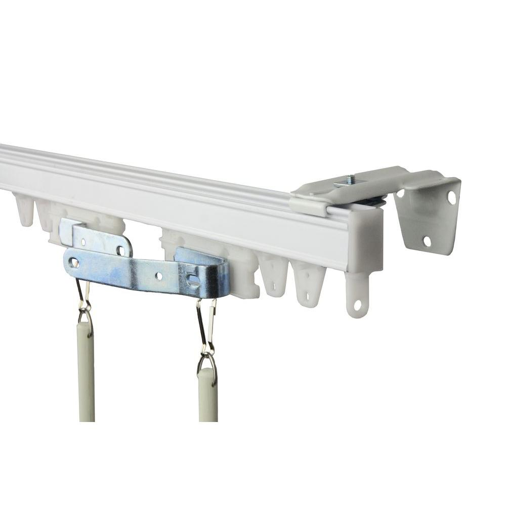 Rod Desyne 60 In. Commercial Wall/Ceiling Track Kit-TK5W