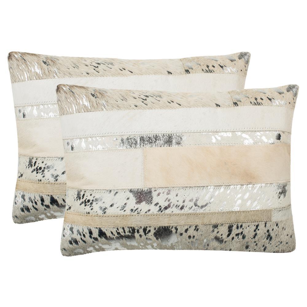 Peyton Cowhide Pillow (2-Pack)