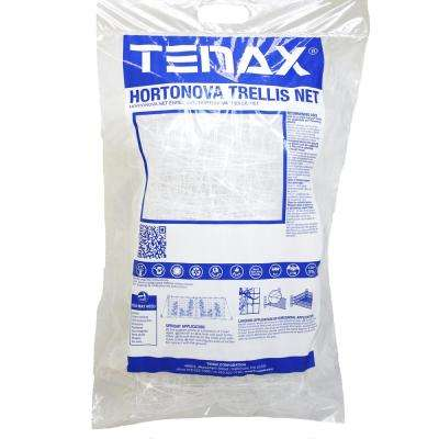 67 in. x 328 ft. White Hortonova Plant Trellis Net