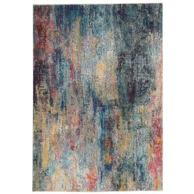 Celestial Multicolor 3 ft. 11 in. x 5 ft. 11 in. Area Rug