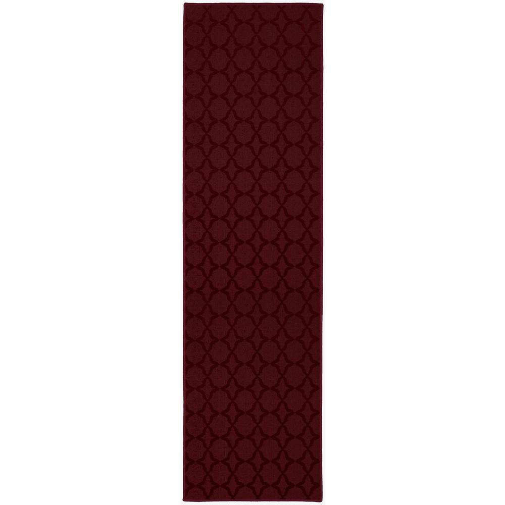 Area Rug Runner Chili Pepper Red
