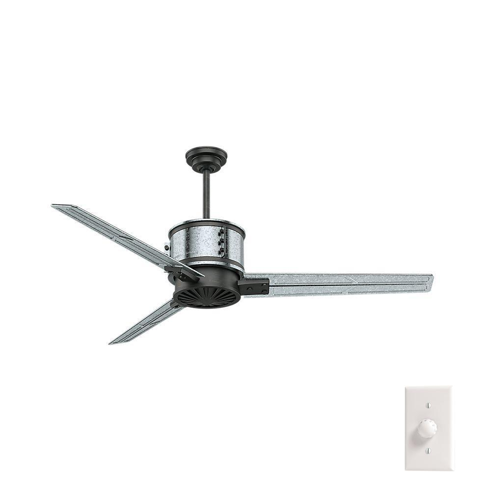 Indoor Galvanized Steel Ceiling Fan