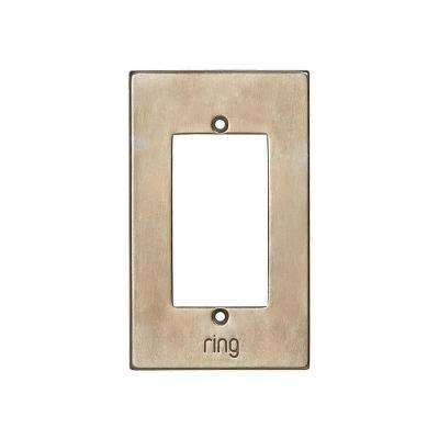 Wired Video Door Bell Elite Silicon Bronze Brushed Faceplate