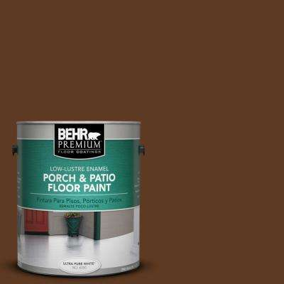 1 gal. #SC-129 Chocolate Low-Lustre Porch and Patio Floor Paint