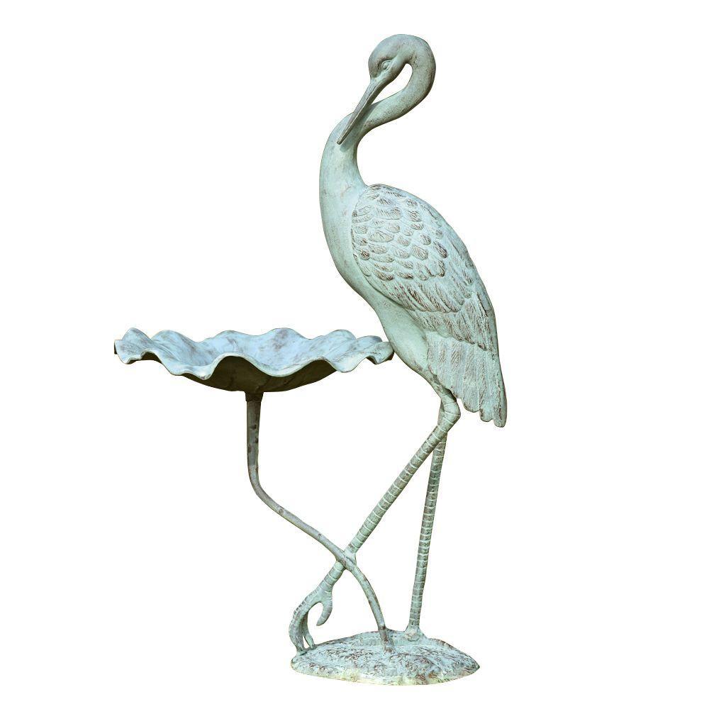 SPI Crane Birdbath