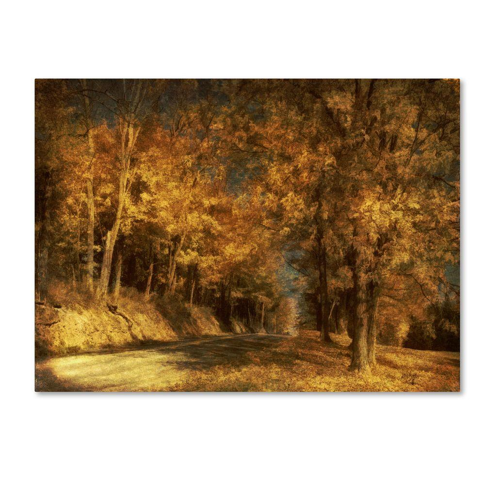 22 in. x 32 in. Back Roads Canvas Art