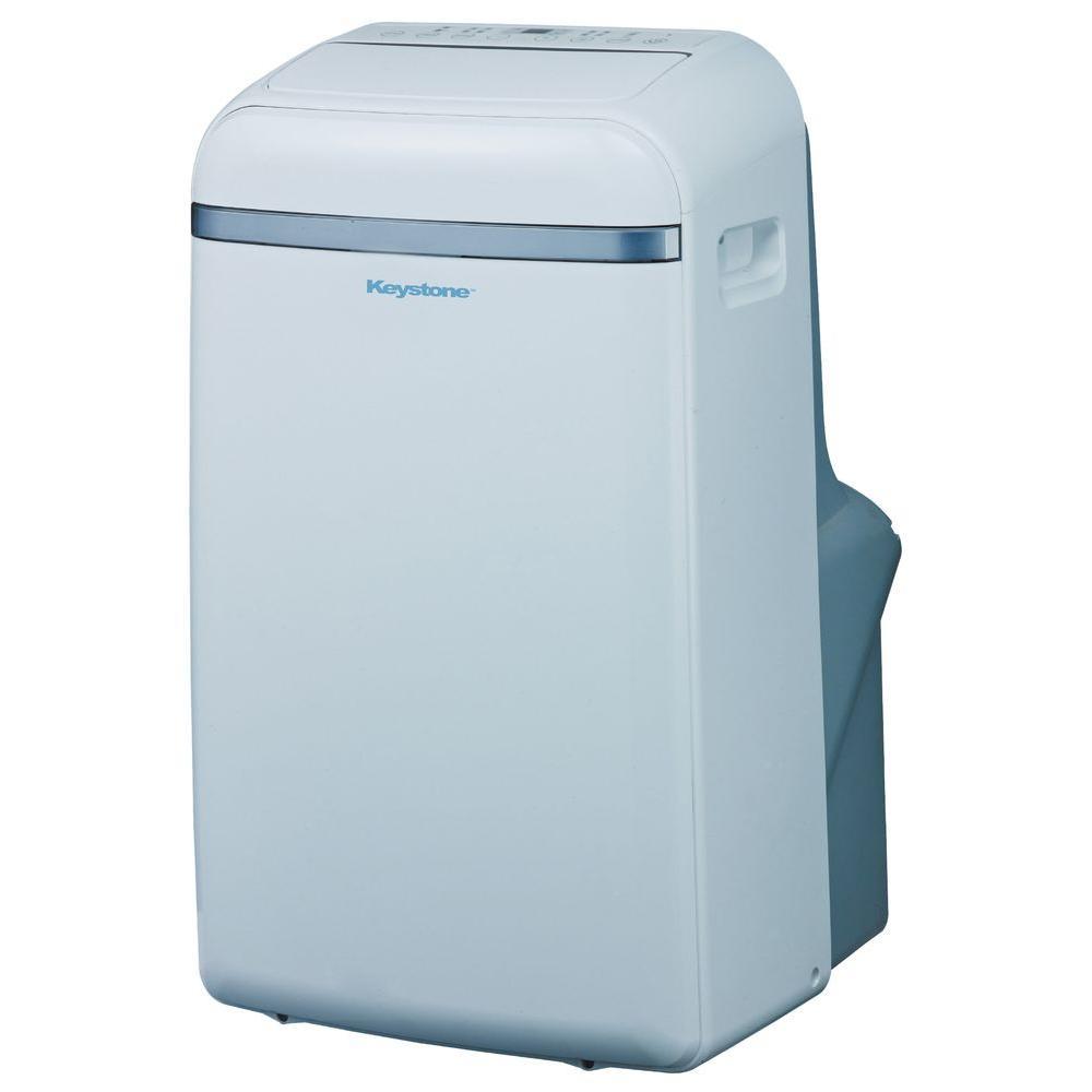 Keystone 14 000 btu 115 volt portable air conditioner with for 14 000 btu window air conditioner