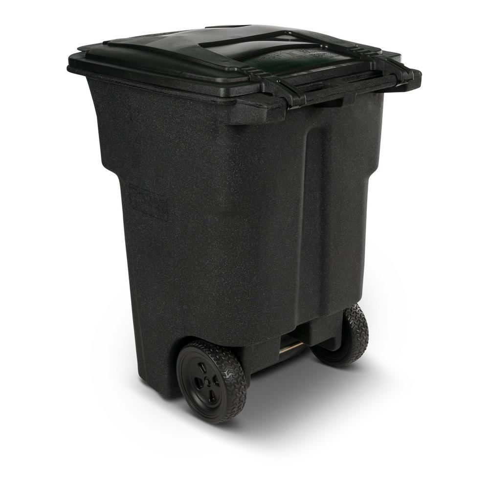 toter 96 gallon. Toter 96 Gal Wheeled Blackstone Trash Can Gallon The Home Depot