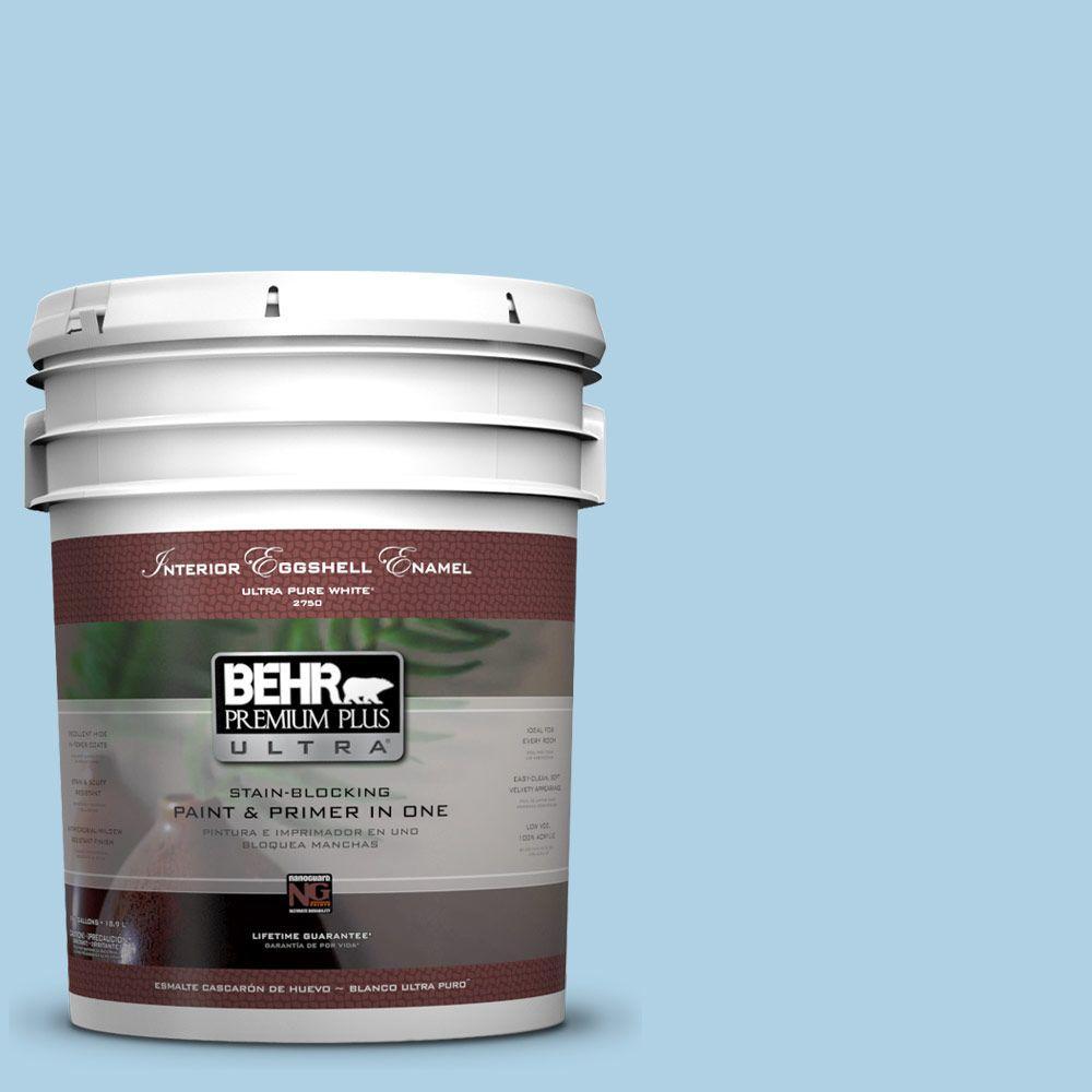 BEHR Premium Plus Ultra 5-gal. #560C-3 Holiday Road Eggshell Enamel Interior Paint