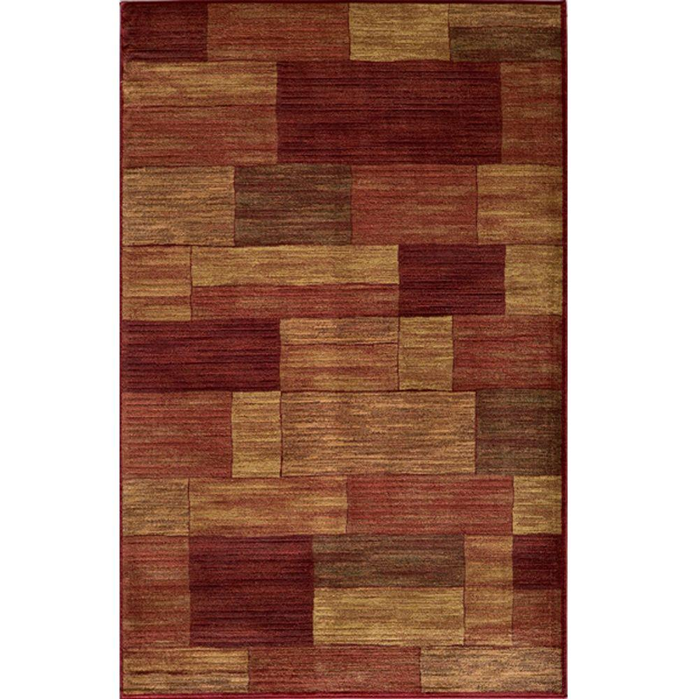 Marvelous Red 5 ft. 3 in. x 7 ft. 6 in.