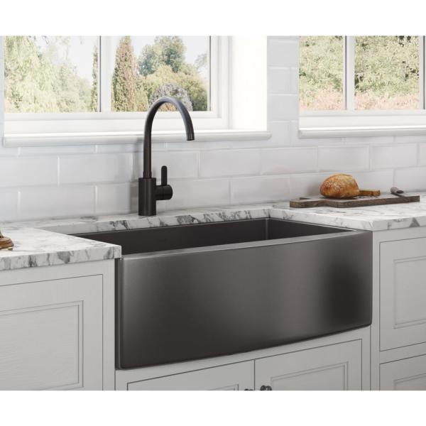Ruvati Farmhouse A Front Stainless, Drop In Farm Sink Home Depot