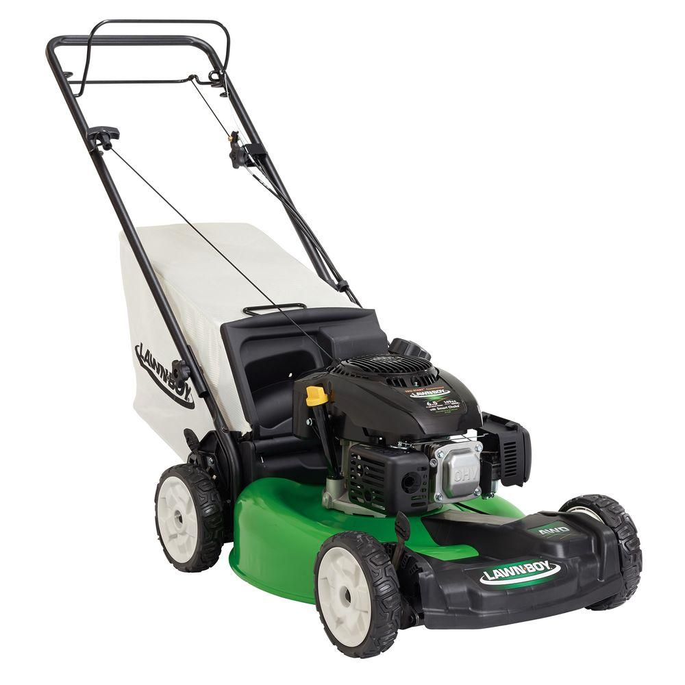 lawn boy 21 in variable speed all wheel drive gas walk behind self rh homedepot com Lawn Boy 4 Horsepower Lawn Boy 4 Horsepower
