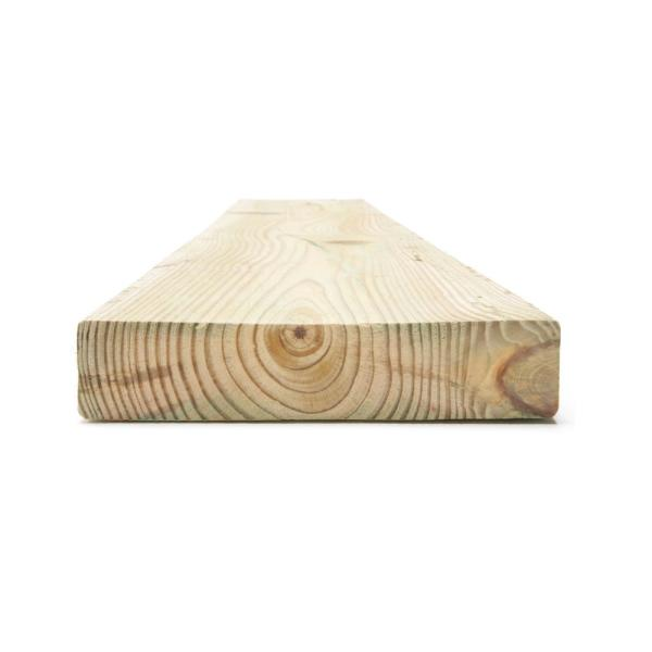 2 In X 8 In X 8 Ft 2 Prime Ground Contact Pressure Treated Lumber 288711 The Home Depot