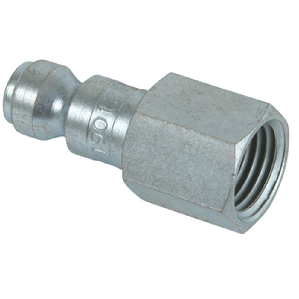 Hitachi 1/4 in. x 1/4 in. NPTF Automotive Plug Fitting