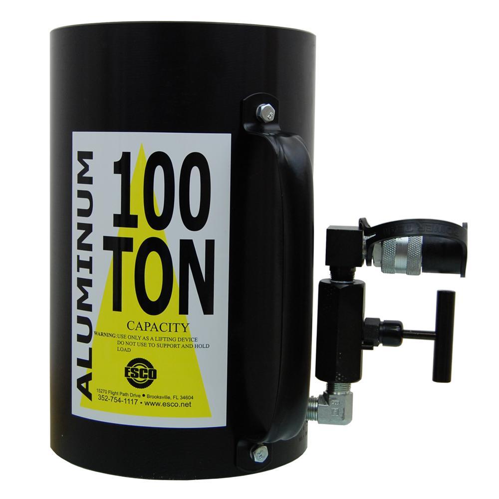 100-Ton Hydraulic Cylinder Jack