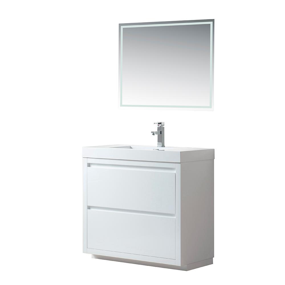 Vanity Art Annecy 36 in. W x 19 in. D x 34 in. H Bathroom ...