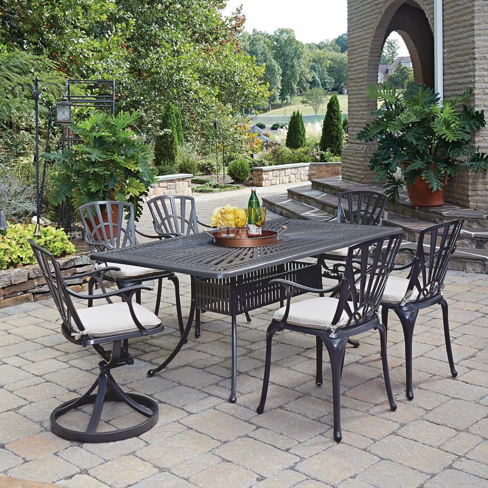 Largo 7-PiecePatio Dining Set with Cushions