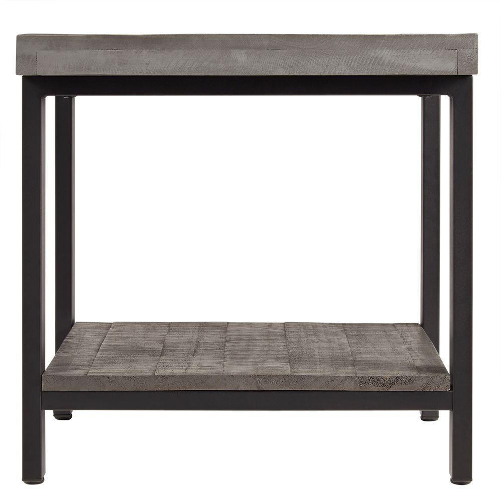 HomeSullivan Buckner Grey Side Table